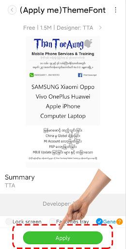 TTA Mi Myanmar Unicode Font 6262020 Screenshots 5