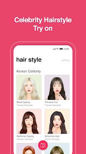 Hairfit - k-pop hairstyle simulator 1.0.17 Screenshots 5
