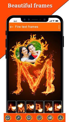 Fire Text Photo Frame u2013 New Fire Photo Editor 2020 1.43 Screenshots 14