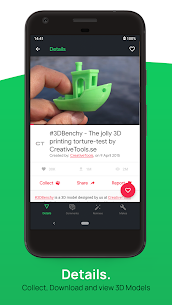 3D Geeks 🤓: Thingiverse Browser for 3D Printing 1.15.4 APK + MOD (Unlocked) 2