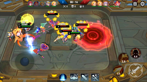 Masters Battle League 5v5 : Legend MOBA PvPTrainer modavailable screenshots 7