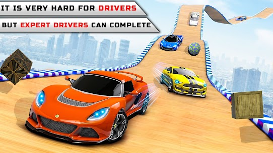 Superhero Car Stunts Car Games 2