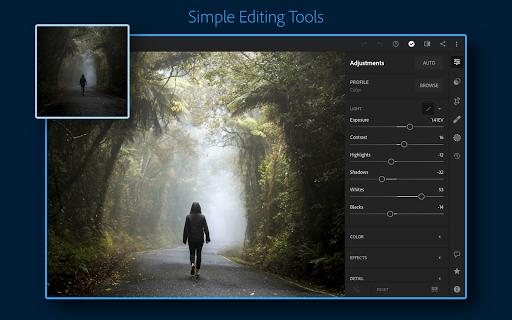 Adobe Lightroom - Photo Editor & Pro Camera 6.1.0 screenshots 1
