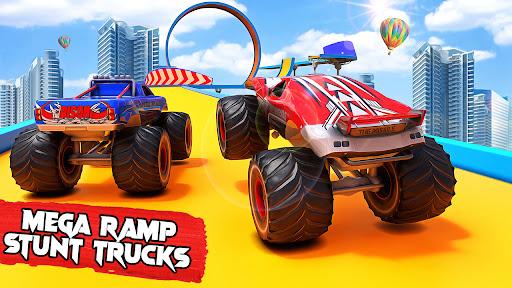 Monster Truck Stunts : Car Racing Games  screenshots 1