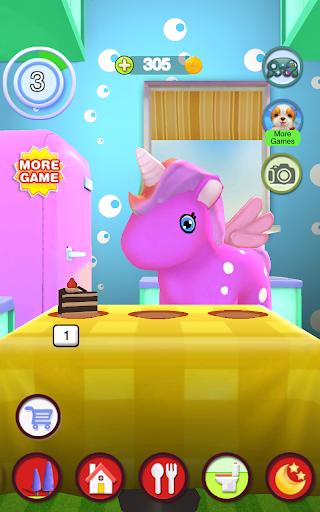 Talking Unicorn apktram screenshots 10