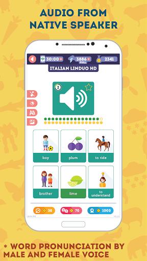 Italian for Beginners: LinDuo HD 5.4.0 screenshots 5
