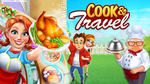 Cook n Travel: Cooking Games Craze Madness of Food 2.6 apktcs 1