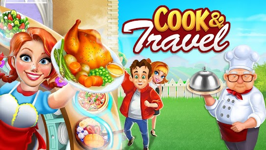 Cook n Travel: Cooking Games Craze Madness of Food 1