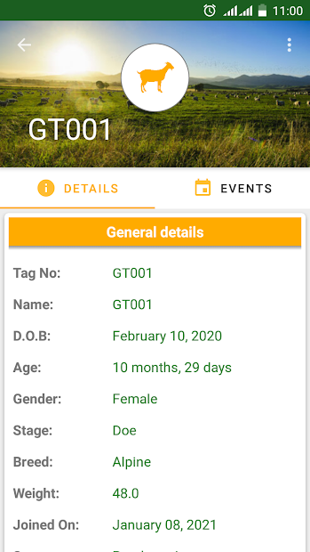 My Goat Manager - Goat farming app screenshot 8