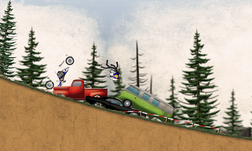 Stickman Downhill Motocross 4.1 screenshots 8