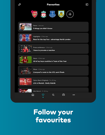 Optus Sport 4.7.1 Screenshots 12