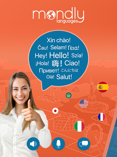 Learn 33 Languages Free - Mondly 7.9.0 Screenshots 9