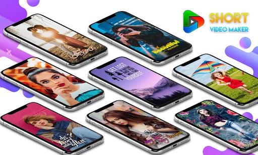 Lyrical Video Status Maker - Photo Video Music android2mod screenshots 1