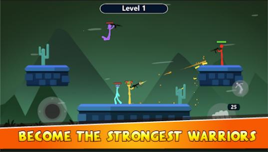 Stick Battle Mod Apk- Super Warriors (Unlimited Gold) 4