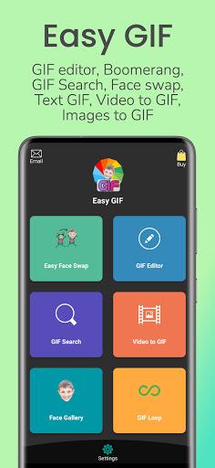 Download APK: Easy GIF: GIF Editor, GIF Maker, Reface, Video v8.0.5 [Full Unlocked]