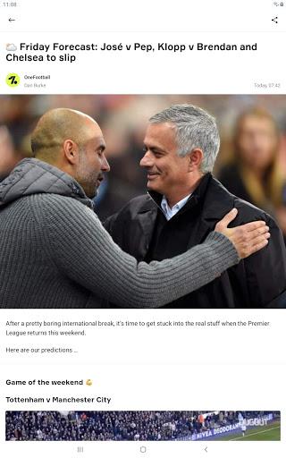OneFootball - Soccer News, Scores & Stats  APK screenshots 11