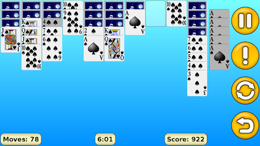Spider Solitaire 1.18 Screenshots 3