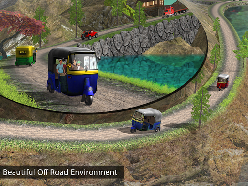 Tuk Tuk Auto Rickshaw Offroad Driving Games 2020 android2mod screenshots 8