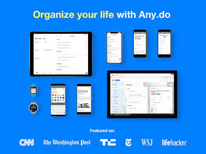 Any.do: To do list, Calendar, Planner & Reminders Screenshot