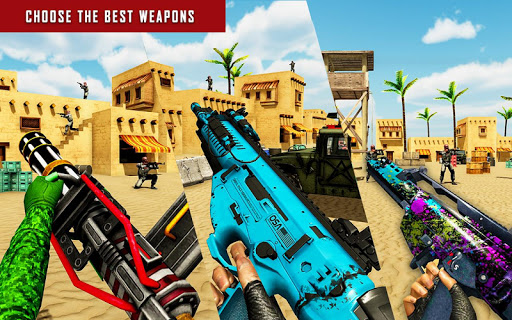 FPS Shooter Games 2020:New Counter Terrorist Game goodtube screenshots 10