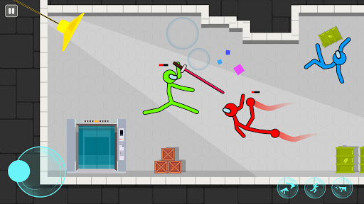 Supreme Stickman Fighting: Stick Fight Games android2mod screenshots 3