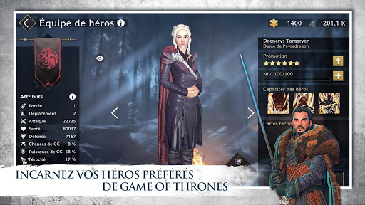 Code Triche Game of Thrones Au-delà du Mur APK Mod screenshots 1