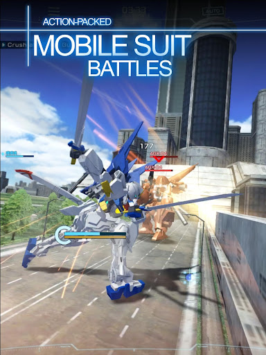 GUNDAM BATTLE GUNPLA WARFARE apkmr screenshots 3