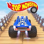 Monster Truck Stunts Game : Mountain Climb Stunt