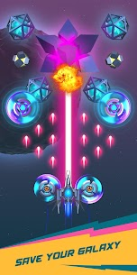 Dust Settle 3D-Infinity Space Shooting Arcade Game MOD APK (Unlocked) 5
