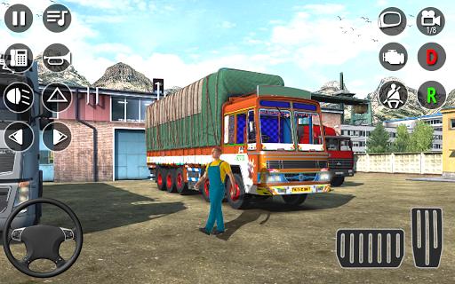 American Cargo Truck Game - New Driving Simulator 1.6 Screenshots 2