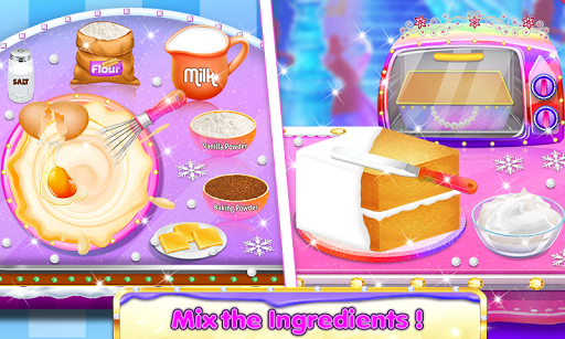 Cosmetic Box Cake and Cookie Maker Girls cooking 1.4 screenshots 2