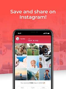 Top Nine for Instagram - Best of 2020 4.0.5 Screenshots 9