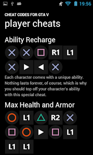 Free Cheat Codes for GTA V 3