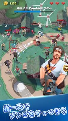 Mow Zombies - 美少女サバイバルゲームのおすすめ画像1
