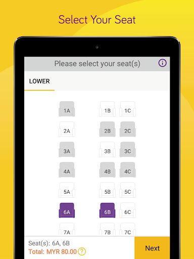 Easybook - Bus, Train, Ferry, Flight & Car Rental  Screenshots 8