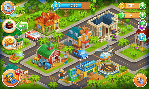 Farm Zoo: Happy Day in Animal Village and Pet City 1.40 Screenshots 8