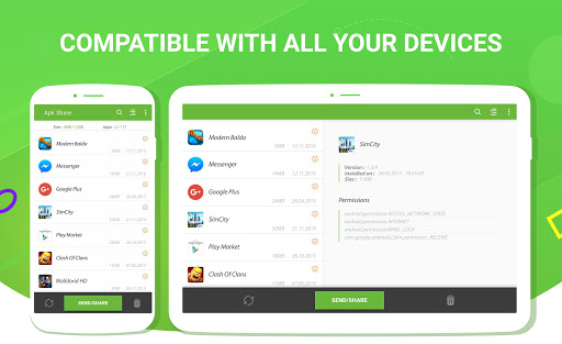 Share / Kirim Aplikasi