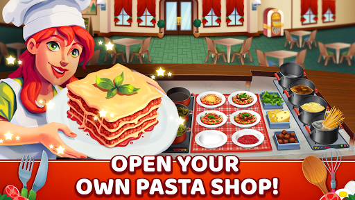 My Pasta Shop - Italian Restaurant Cooking Game modavailable screenshots 1