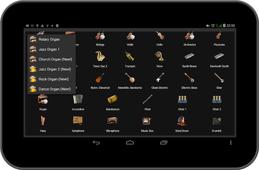 Strings and Piano Keyboard android2mod screenshots 19