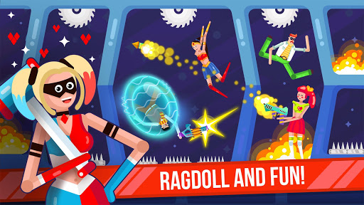 Ragdoll Rage: Heroes Arena screenshots 9