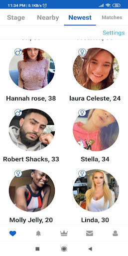 USgab - US nearby dating app for USA Singles modavailable screenshots 1