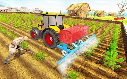 Modern Tractor Farming Simulator: Offline Games apktram screenshots 4