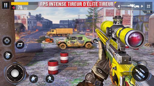 Code Triche Nouveau tireur d'élite commando hors ligne 2020 (Astuce) APK MOD screenshots 5