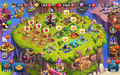 Monster Legends: Breed & Merge Heroes Battle Arena 11.0.4 screenshots 21