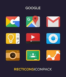 Recticons – Icon Pack Apk (Paid/Patched) 3