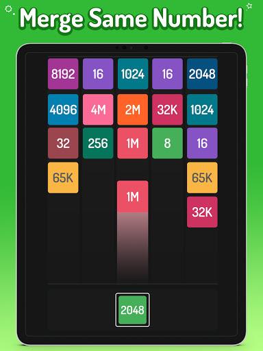 Merge Numbers - 2048 Blocks Puzzle Game screenshots 9