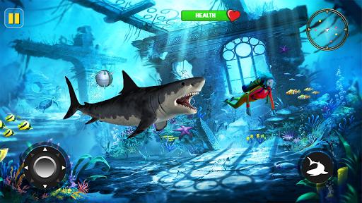 Télécharger Gratuit Fâché Requin Attaque - Sauvage Requin Jeu 2019 apk mod screenshots 5