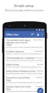 Offline Diary 2.70.1 (Unlocked)