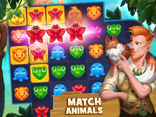 Animal Drop u2013 Free Match 3 Puzzle Game modavailable screenshots 6