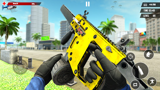 US Police Free Fire - Free Action Game modavailable screenshots 9